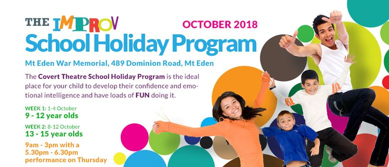 Improv School Holiday Program