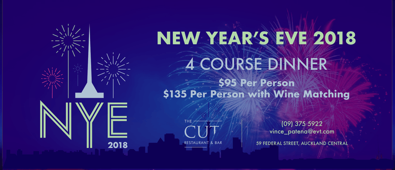 New Year's Eve - The Cut Restaurant: SOLD OUT