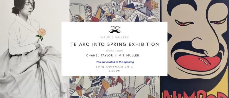 Te Aro Into Spring Exhibition