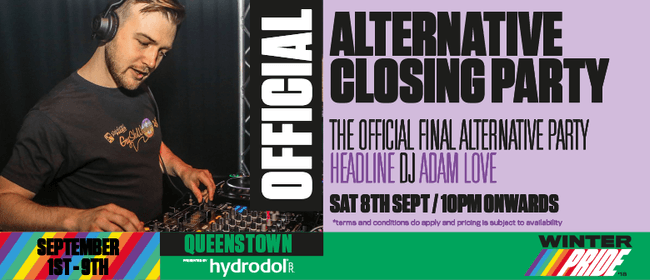 Official Alternative Closing Party