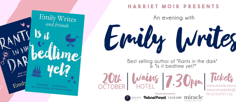 An Evening with Emily Writes