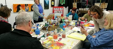 Art Workshop with Tea & Biscuits
