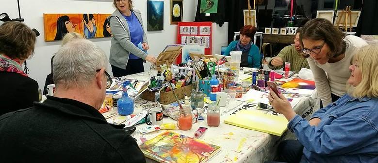 Art Workshop with Tea & Biscuits
