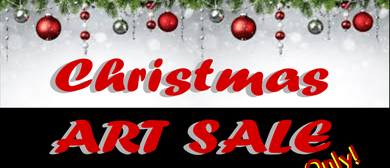 Christmas Art Sale