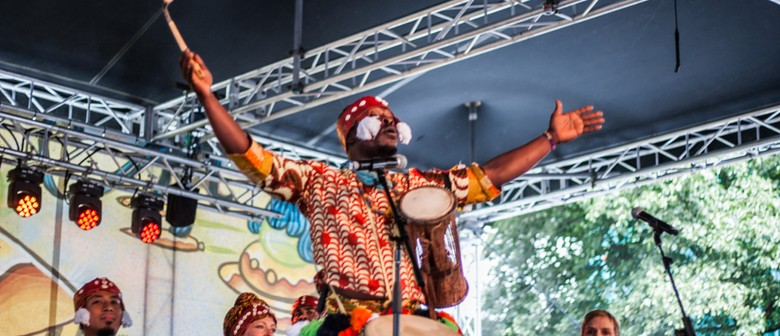 West African Drumming and Dance Workshop in Whanganui