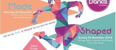 Rise Dance - Shaped Public Classes Showcase
