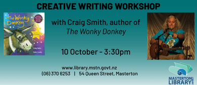 Creative Writing Workshop - Author of The Wonky Donkey