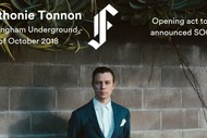 Image for event: Anthonie Tonnon: CANCELLED