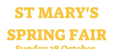 St Mary's Spring Fair