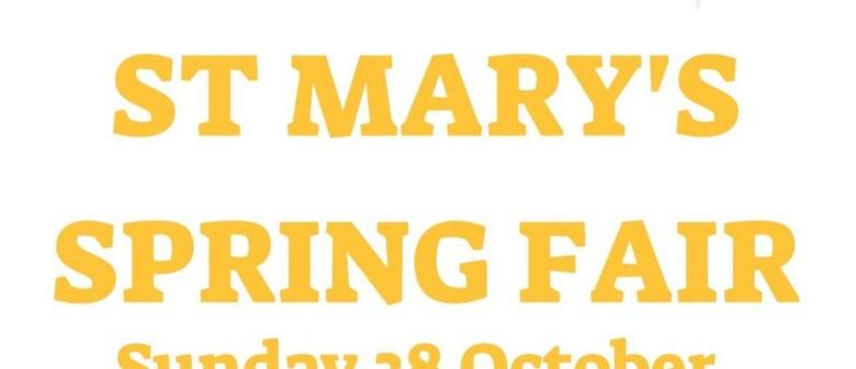 St Mary's Spring Fair