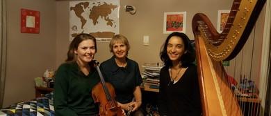Flute, Harp and Viola Concert