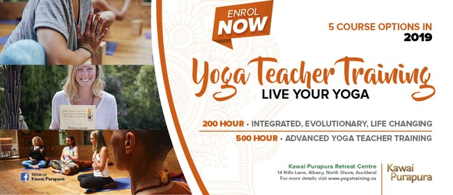 200 hour Yoga Teacher Training 18 Days Intensive