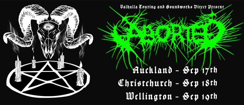 Aborted Terror Vision NZ Tour