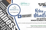 Image for event: Relax into Life with Mindfulness