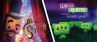 Double Feature – We Are Aliens and We Are Stars
