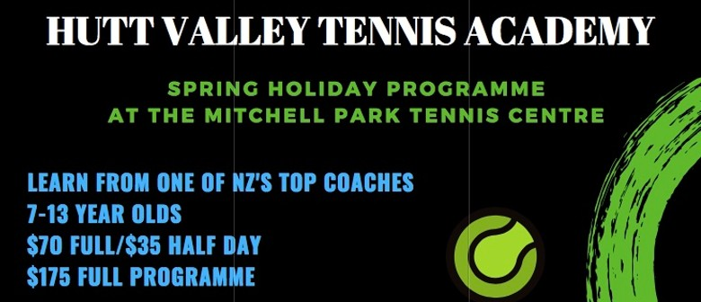 Spring Tennis Holiday Program With Top NZ Coach Marc Paulik
