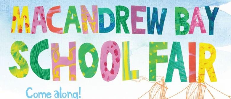 Macandrew Bay School Fair
