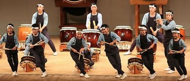 Japanese Drum Performance