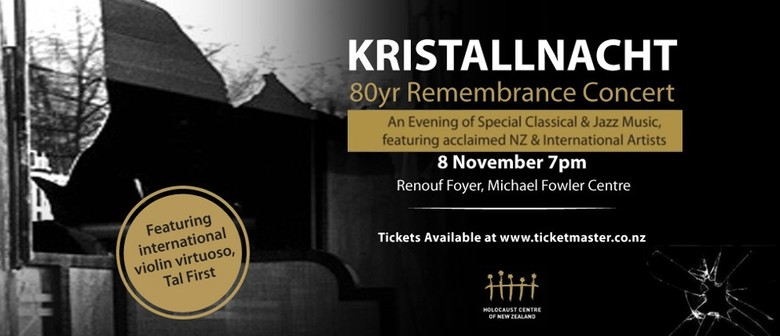 Kristallnacht 80-Year Remembrance Concert