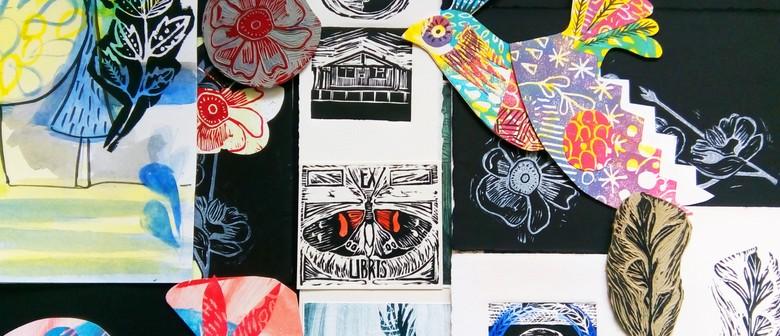 Studio One Toi Tū - Relief Printmaking