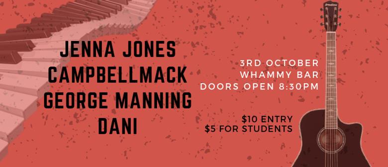 Jenna Jones, CampbellMack, George Manning & Dani
