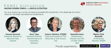 Panel Discussion: Helping Women Thrive In the Digital Ecosys