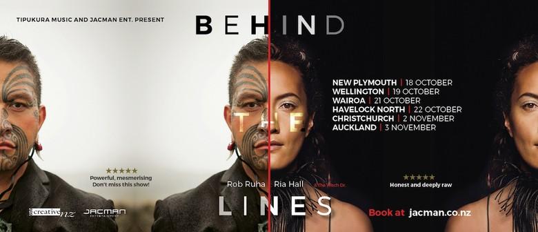 Behind The Lines - Rob Ruha & Ria Hall