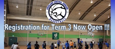 Auckland Central Cougars Basketball Club Club Days: Term 3: SOLD OUT