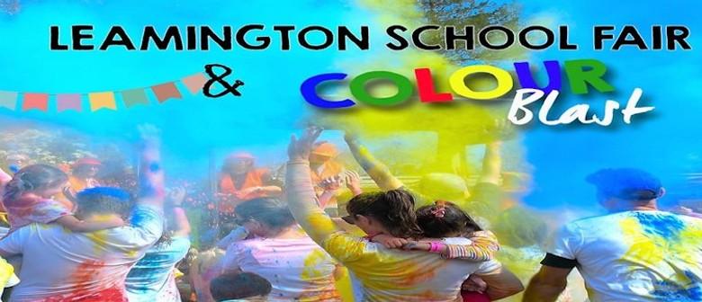 Leamington Primary School Spring Fair and Colour Run