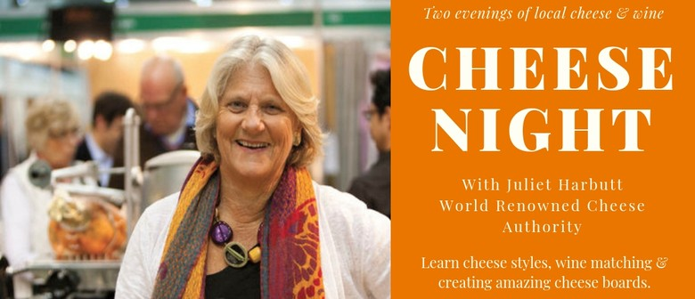 Cheese Night with Juliet Harbutt