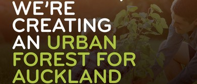 Vector Urban Forest Planting