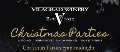 Vilagrad Winery Christmas Parties
