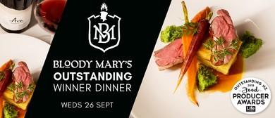Bloody Mary's Outstanding Winner Dinner