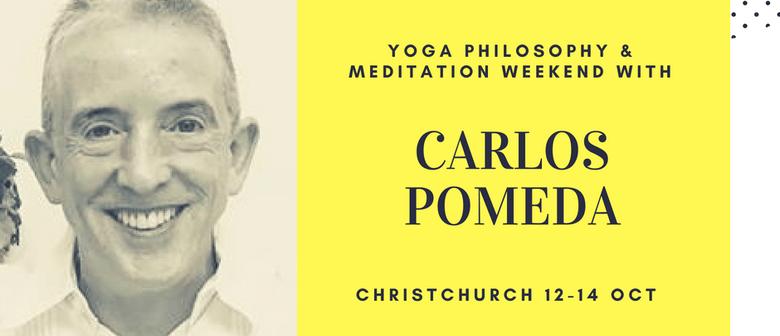 Yoga Philosophy & Meditation with Carlos Pomeda