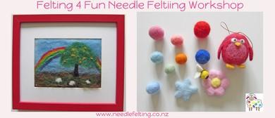 Family Needle Felting Workshop