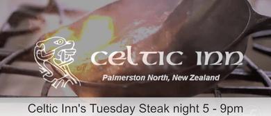 Celtic Inn's Tuesday Steak Night!