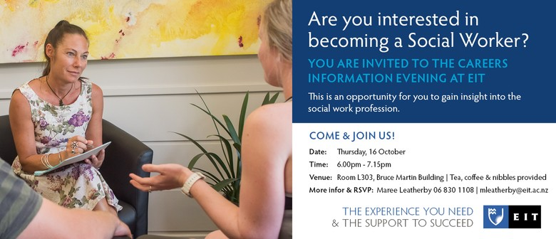 Social Work Careers Information Evening