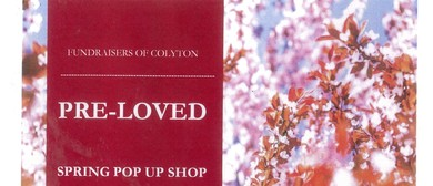Pre Loved Spring Pop Up Shop - Fundraiser for Colyton School