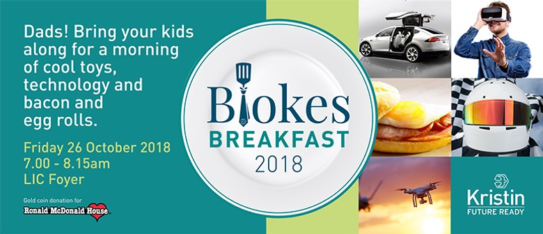 Kristin School Blokes' Breakfast 2018