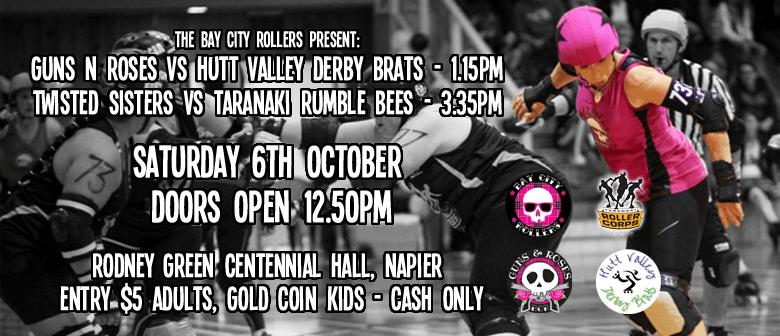 Bay City Rollers VRS Hutt Valley Juniors and Taranaki