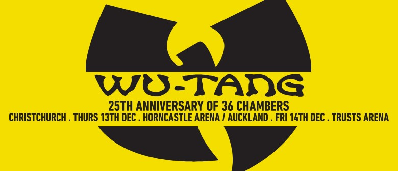 Wu-Tang Clan New Zealand Tour