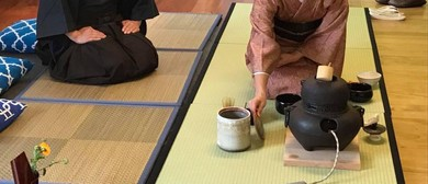 Japanese Tea Ceremony Sessions & Bazaar (Japan Flood Relief)
