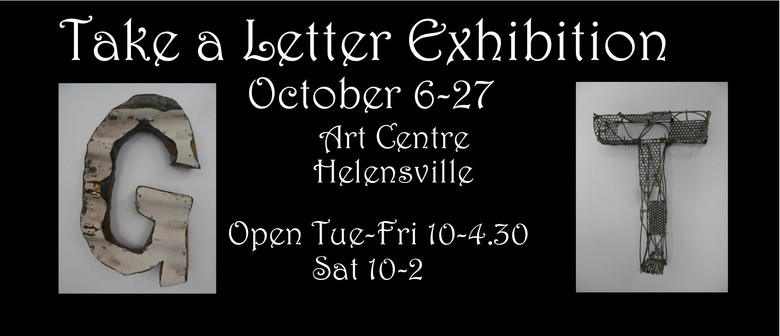Take a Letter Art Exhibition