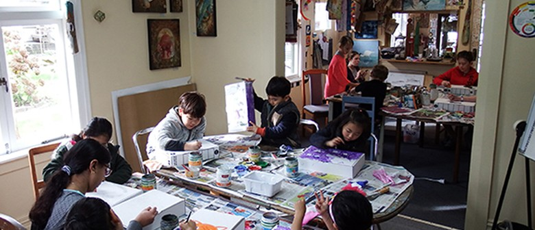 Art Classes for The Spring School Holidays