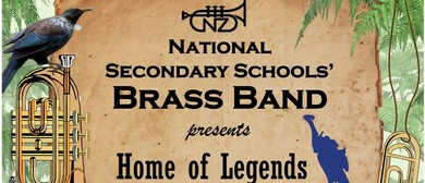 National Secondary Schools' Brass Band - Home of Legends