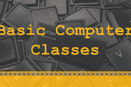 Image for event: Stepping Up - Basic Computer Classes