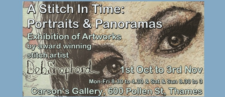 A Stitch In Time: Portraits & Panoramas
