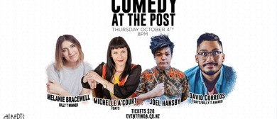 Comedy at the Post - October