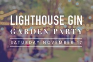Image for event: Lighthouse Gin Garden Party