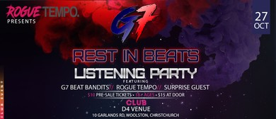 G7 - Rest In Beats - Album Release